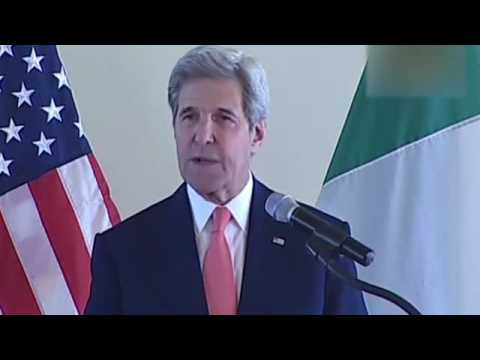 US secretary of state in Africa