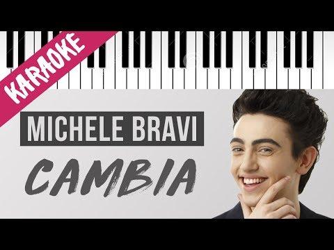 Michele Bravi | Cambia // Piano Karaoke con Testo