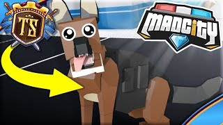 ADOPT MY OWN DOG IN MAD CITY! -Mad City | Danish Roblox