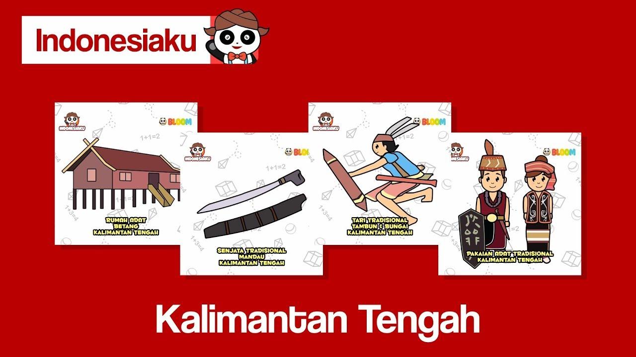 63 Gambar Baju Adat Dan Rumah Adat Kalimantan Tengah