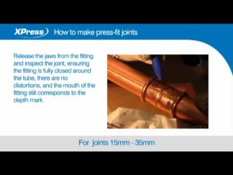 Xpress: How to make press-fit joints