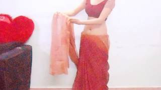Gujrati Style Saree Wearing Step-How To Carry Gujratis Sari/Choli/Blouse