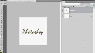 Рисуем зеленый текст в Photoshop (16/40)
