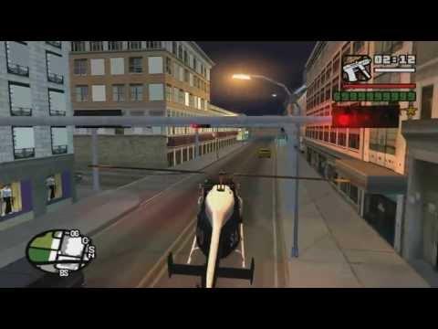 GTA San Andreas Make Police Maverick EP/FP And Take It To Las Venturas