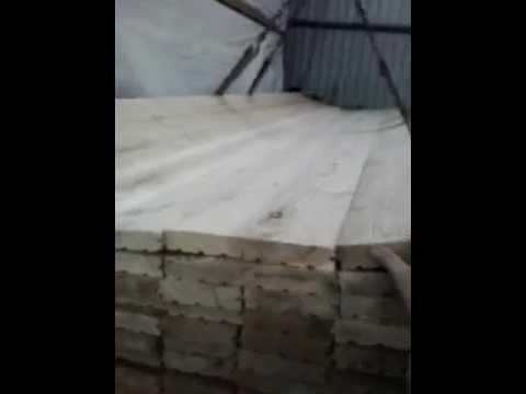 Строганный брусок из лиственницы Экстра - YouTube