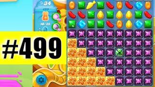 Candy Crush Soda Saga Level 499 NEW | Complete!
