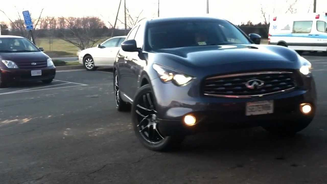 Infiniti fx50s r1 concepts rotors youtube vanachro Image collections