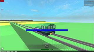 Roblox V.I.P train ride into the city