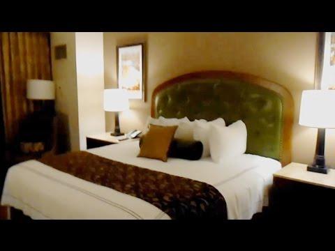 L'Auberge hotel room, Lake Charles, LA