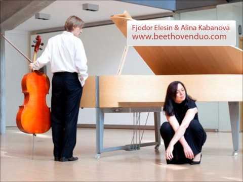 Beethoven Duo - Mendessohn Sonata 2, op.58, Allegro assai vivace