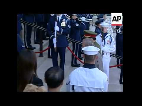China's Highest-ranking Military Officer Meets Rumsfeld