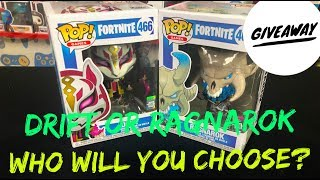 Funko - Pop! Games: Fortnite - Drift and Ragnarok Giveaway