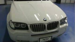 2008 BMW X3 White sold by SLXI SN1086