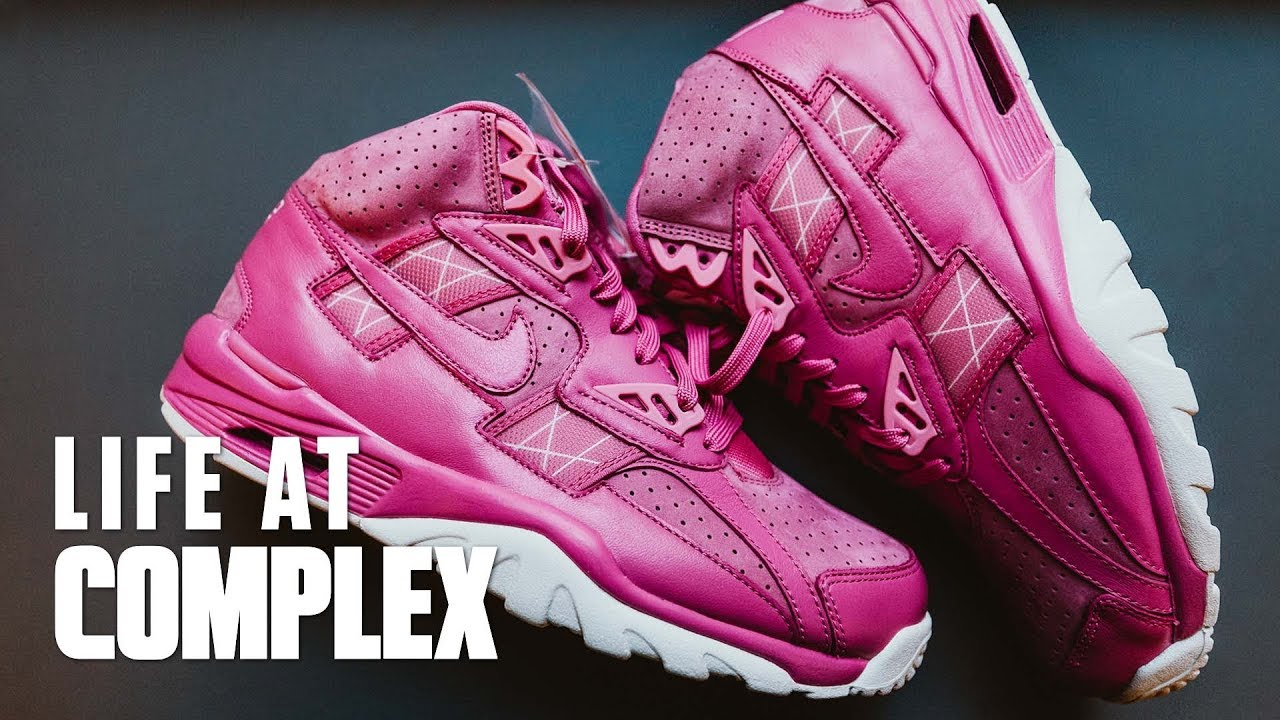 separation shoes 13249 f9c50 Exclusive Nike Breast Cancer Sneakers Revealed! | #LIFEATCOMPLEX