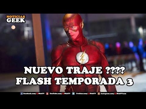 Flash Temporada 3 - El  Nuevo Traje   Noticias Geek 2