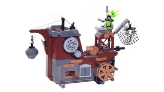 Lego® Angry Birds Piggy Pirate Ship review in Stop Motion set 75825