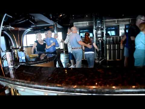 Square Dancing on the Ruby Princess Cruising to Alaska David Mee
