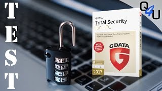G DATA Security Suite 2017 im Test - QSO4YOU Tech