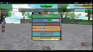 Roblox: Miner's Haven Rez CODE!!!