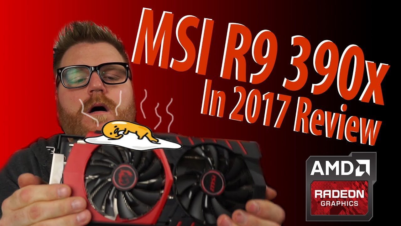 MSI Radeon R9 390x 2017 Review - Can you fry eggs on it?!