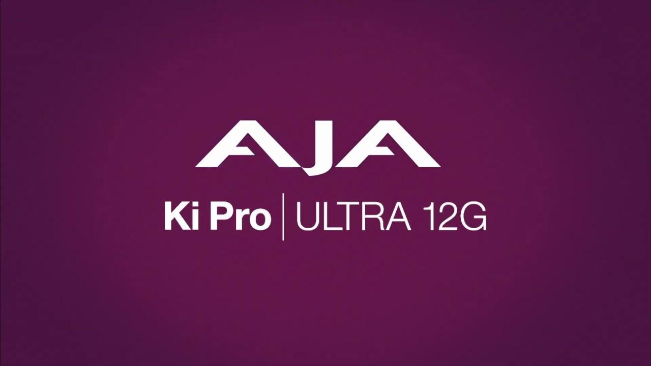Ki Pro Ultra 12G 4K/UHD/2K 電影級HDR錄放影機簡介