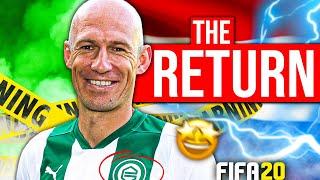 Arjen Robben Out Of Retirement Career Sim Challenge!! Fifa 20 Career Mode