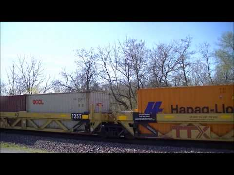 NS 224 at Georgetown, Indiana in HD