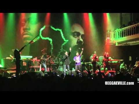 Damian Marley & Nas - Tribal War in Amsterdam 4/12/2011