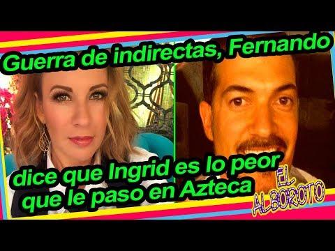 Fernando del Solar le responde a Ingrid Coronado