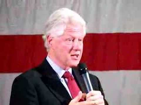 Bill Clinton at Bryant University