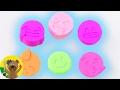 Emojis com massinha | Teste de molde