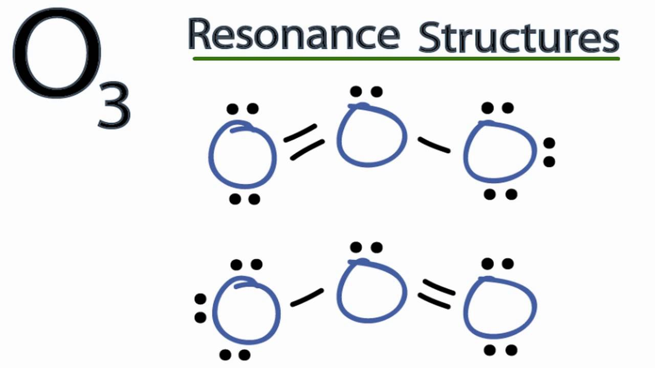 small resolution of o3 resonance structures ozone youtubeo3 lewis dot diagram 4