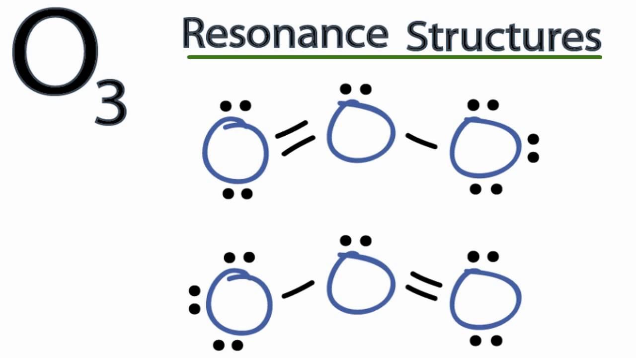 medium resolution of o3 resonance structures ozone youtubeo3 lewis dot diagram 4