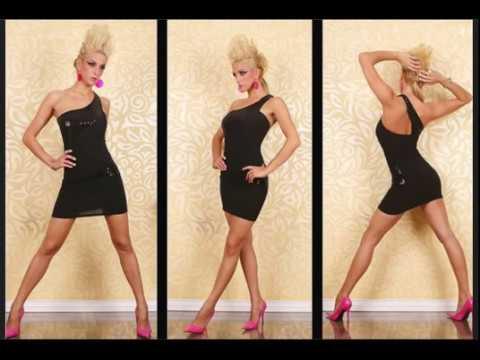 39aec3739 Vestidos noche vestidos para fiesta y vestidos corto y largo - YouTube