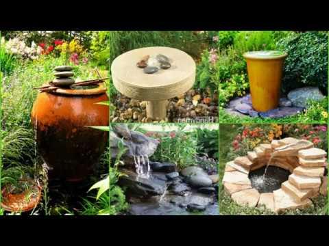 🔝 UPDATE 2018: DIY Outdoor Fountain Ideas Design Creative 2018 Best ...