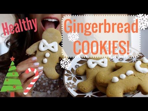 BRAINFOOD: Healthy Gingerbread Cookies! (Vegan Friendly)