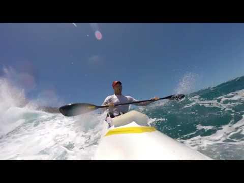 Molokai 2017 Surfski China Walls Screamer!