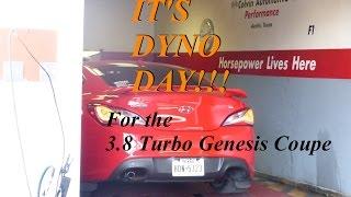 btr custom dyno tune event 3 8 turbo genesis coupe