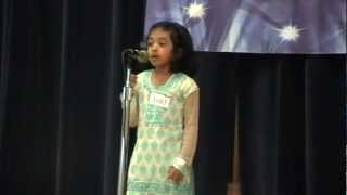 Talent Time 2012 - Malayalam Poetry recitation - Tessa Joseph