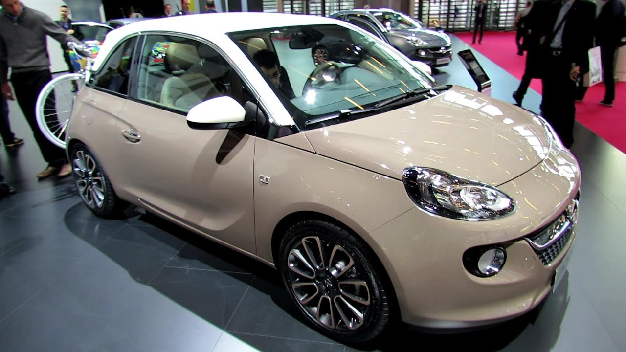 2013 opel adam glam exterior and interior walkaround 2012 paris auto show youtube. Black Bedroom Furniture Sets. Home Design Ideas
