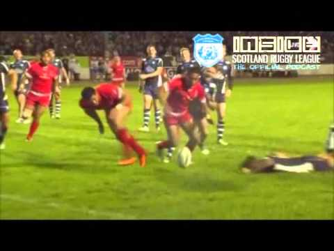 (2013 RLWC) Tonga vs. Scotland (FULL MATCH)