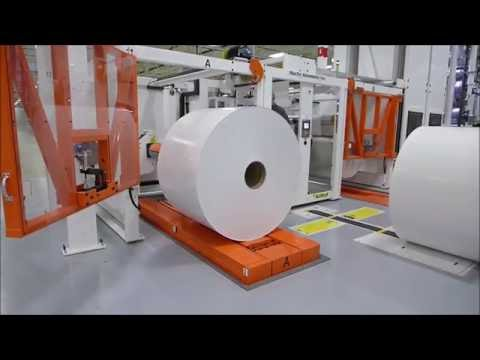 Martin Automatic Roll To Roll Material Handling Systems