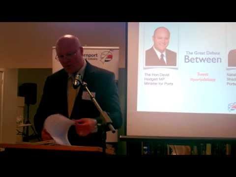 Ports Debate at Hastings 13th October 2014 Part 1