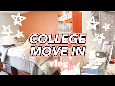 COLLEGE MOVE IN VLOG| Marquette University