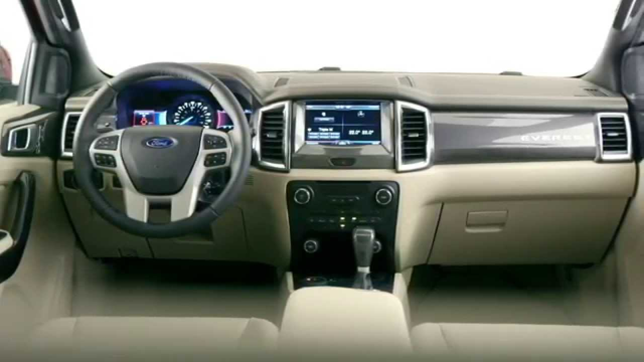 2015 ford everest exterior and interior
