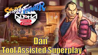 [TAS] - Street Fighter Alpha 2 (Arcade/CPS2) - Dan - Full Perfect