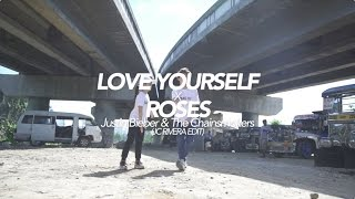 Love Yourself X Roses Dance Choreography #SiblingGoals