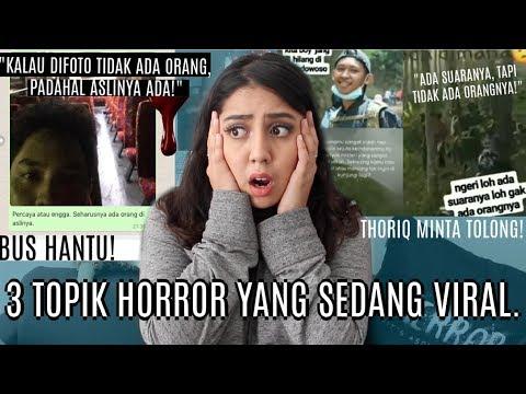 Hal Hal VIRAL baru TERSER4M! (Bus Hantu, Thoriq, IG Creepy) | #NERROR