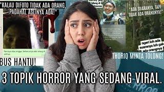 Hal Hal Viral Baru Terser4m Bus Hantu Thoriq Ig Creepy  Nerror