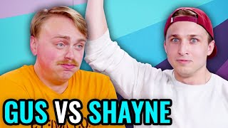 Try Not To Laugh Challenge - Shayne vs Gus Johnson